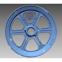 اسکن سه بعدی فولی آلومینیومی توسط دستگاه Einscan Pro