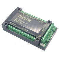 برد کنترلر USB نرم افزار MACH3 کنترل 4 محور NVUM V2  استپرموتور 200KHz